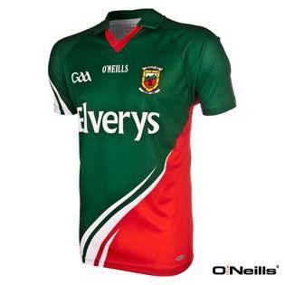 O'Neills Mayo GAA Jersey Green/Red
