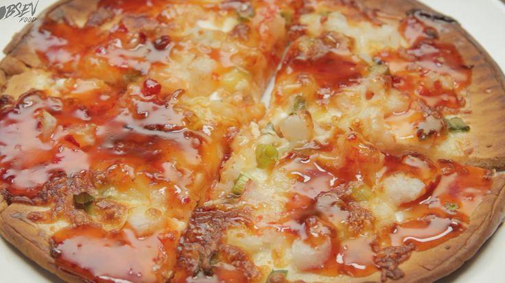Crab Rangoon Pizza