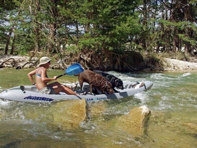Frio River - Tubing, camping, canoeing, kayaking along crystal clear spring fed waters.