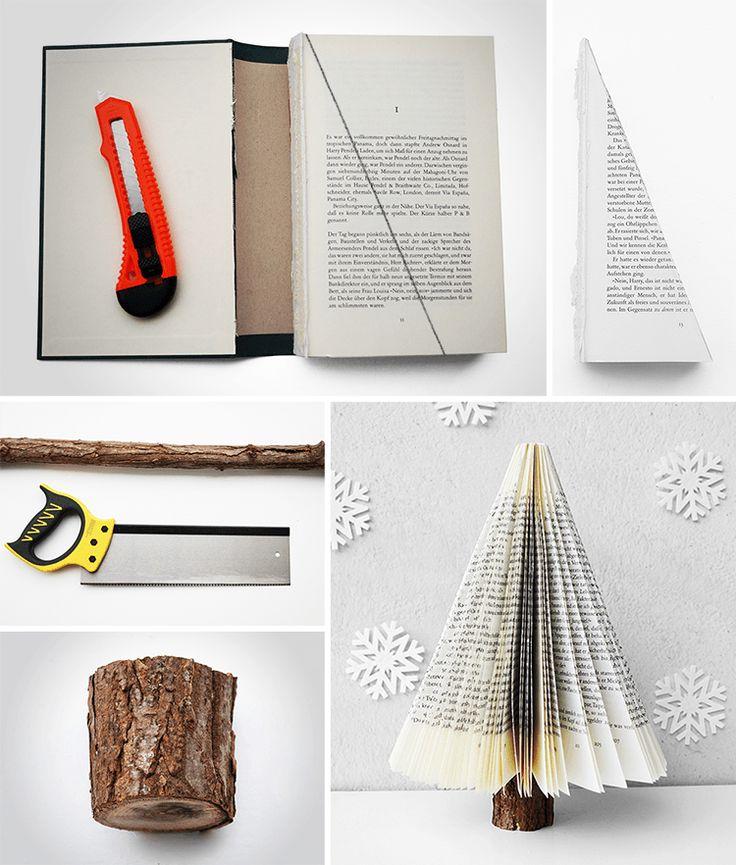 Faça você mesmo uma mini árvore de Natal. Escolha entre um dos 6 modelos abaixo! Tem árvore de Natal para todo o gosto!