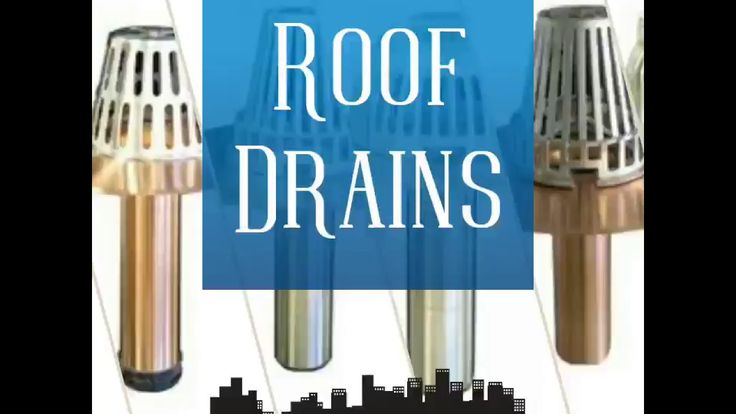 High Quality, Premium, Economical, Lexcor Roof Drains