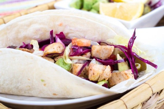 Easy Fish Tacos with Slaw