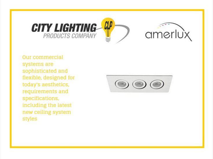 We carry Amerlux brand LED lighting