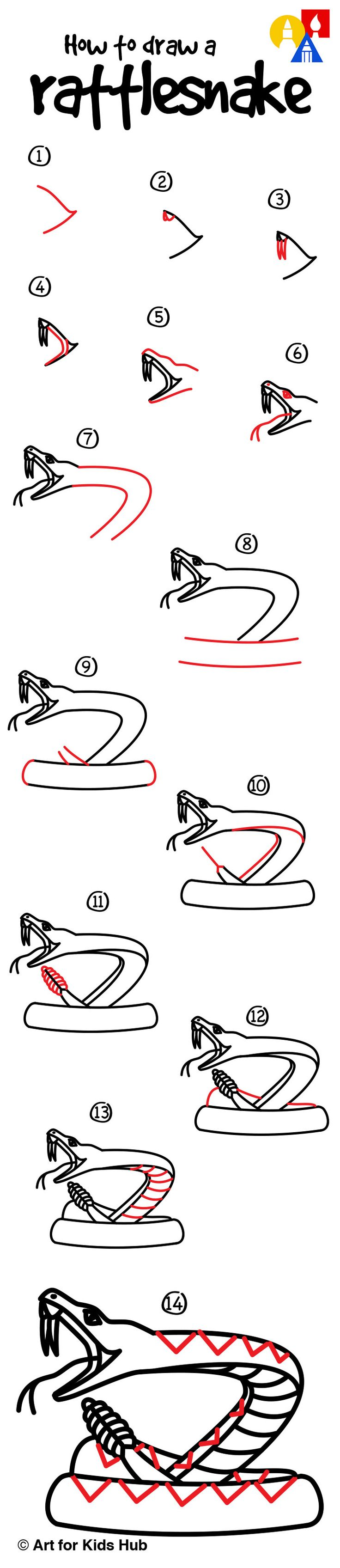 Week 28 - HISTORY (Lewis & Clark): Learn how to draw a rattlesnake!