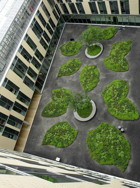 Pierre-Dansereau Science Campus — UQAM #gardens #LandscapeArchitecture