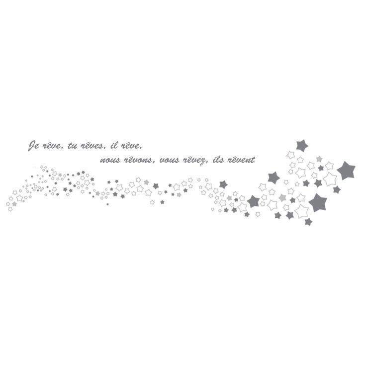 Sticker étoile Rêve : Art for Kids - Stickers texte / lettres - Berceau Magique