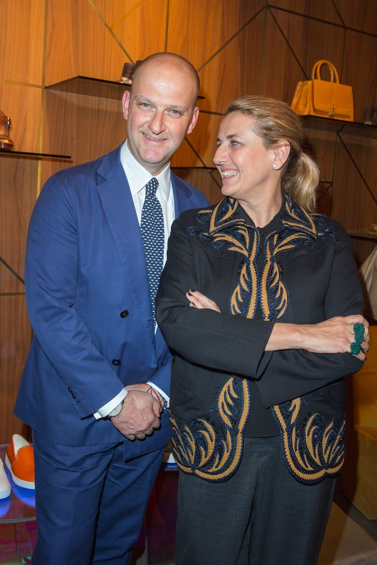 Giuseppe Santoni, Patricia Urquiola