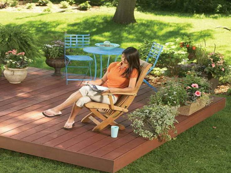Backyard Floating Deck Plans | Outdoor Inspiration | Pinterest | Floating deck plans, Floating ...