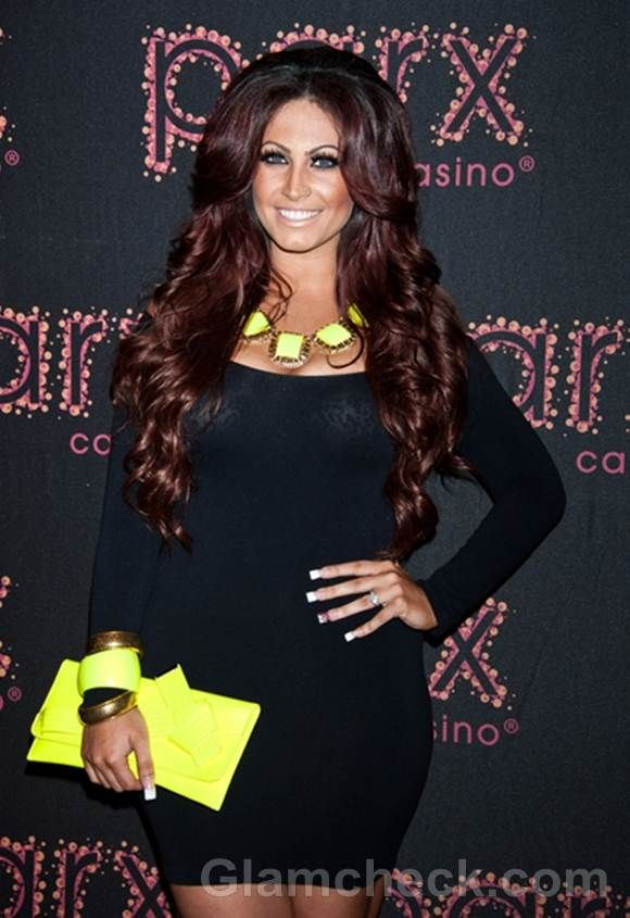 Tracy DiMarco Sports Dazzling Fluorescent Neon Accessories