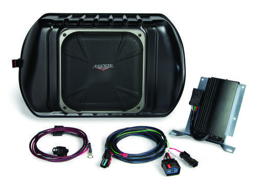 KICKER SubStage Powered Subwoofer Upgrade Kit for 2011 & newer Jeep Wrangler, Four-Door