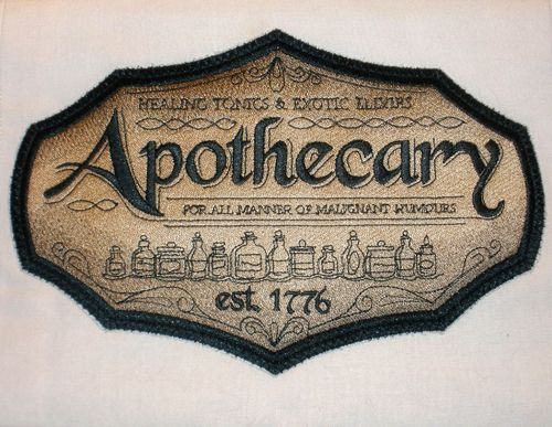 Apothecary  | Featured Project – The Apothecary Kitchen « StitchPunk