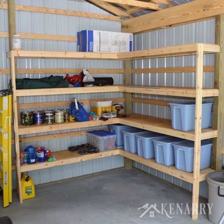 Best 25 shed storage solutions ideas on pinterest shop for How to build a pole shed step by step