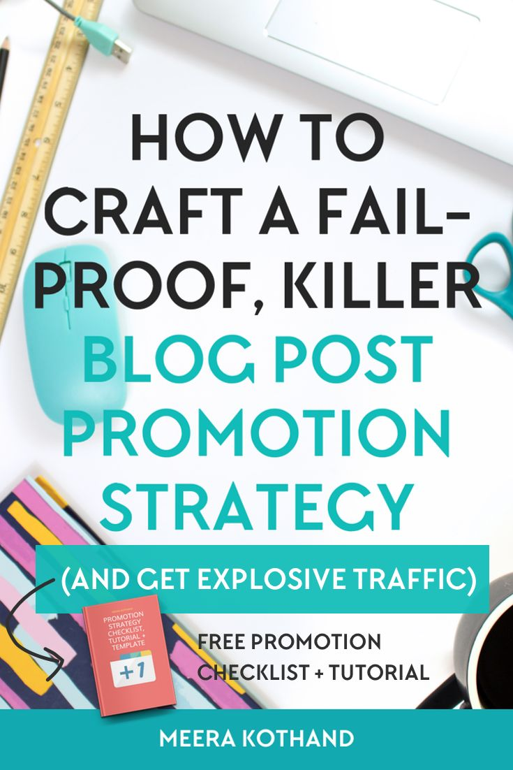Are you wondering why you hardly get any shares and comments? Are you looking for tips on how to promote your blog posts to get more shares? The problem could lie with not having a blog post promotion strategy. You're simply not getting sufficient eyeballs on your content. In this post I give you ideas on how to craft your own promotion strategy and grab the cheat sheet to help with it! #promotion #blog #blogging #strategy
