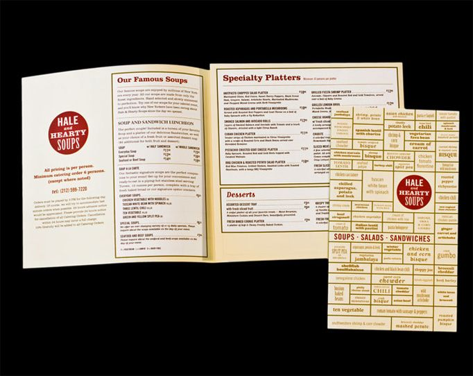 Menu Design Ideas menu design for kirkos bar resto surabaya east java indonesia by Art Of The Menu Hale And Hearty