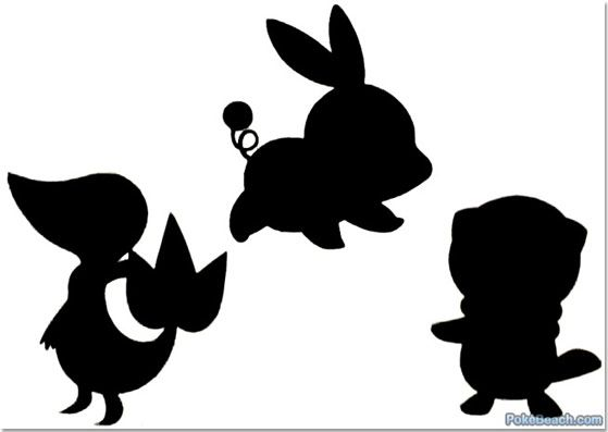 pokemon silhouettes