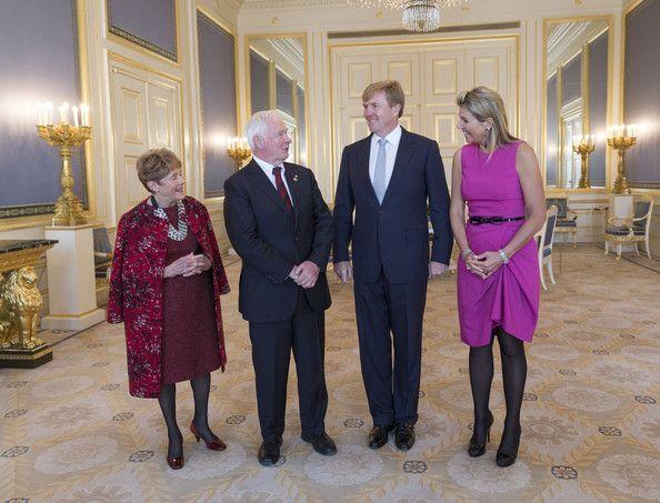 Queen Maxima Photos: David Johnston Visits the Netherlands