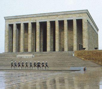 Ataturk Mausoleum Ankara, Turkey