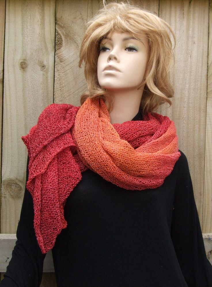 Wrapped scarf