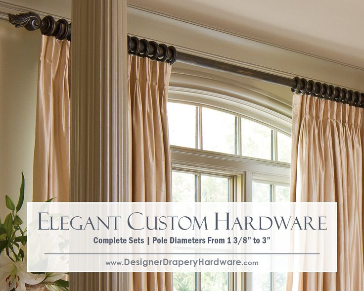 take the guesswork out of selecting your drapery hardware many collections are available as sets