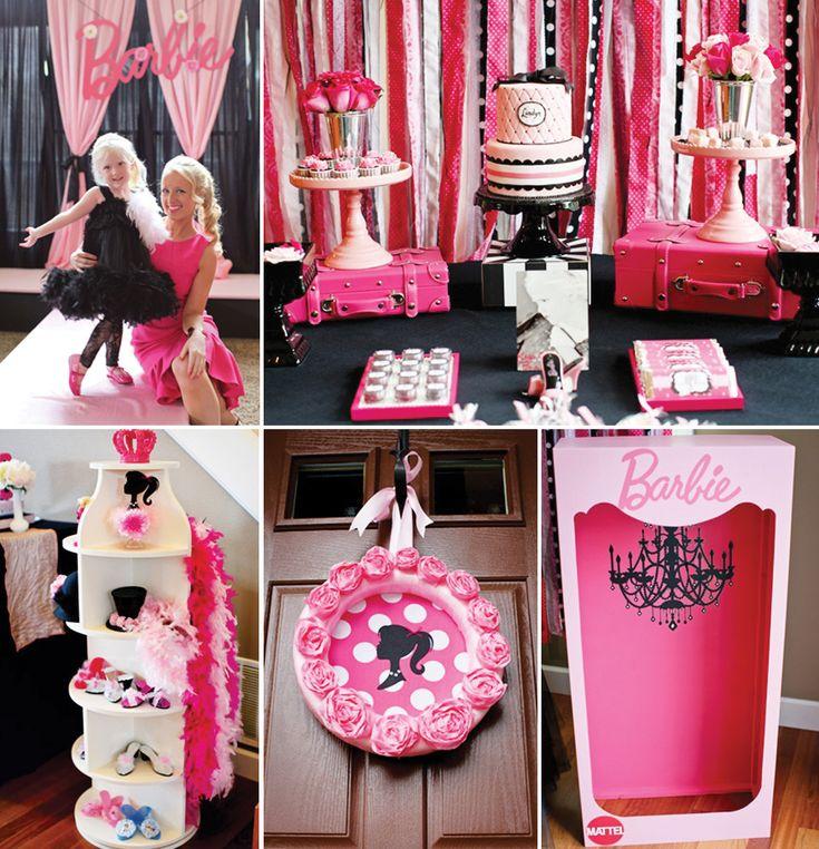 {Fashion Runway} Stylish PINK Barbie Party by LundynBridge Events!
