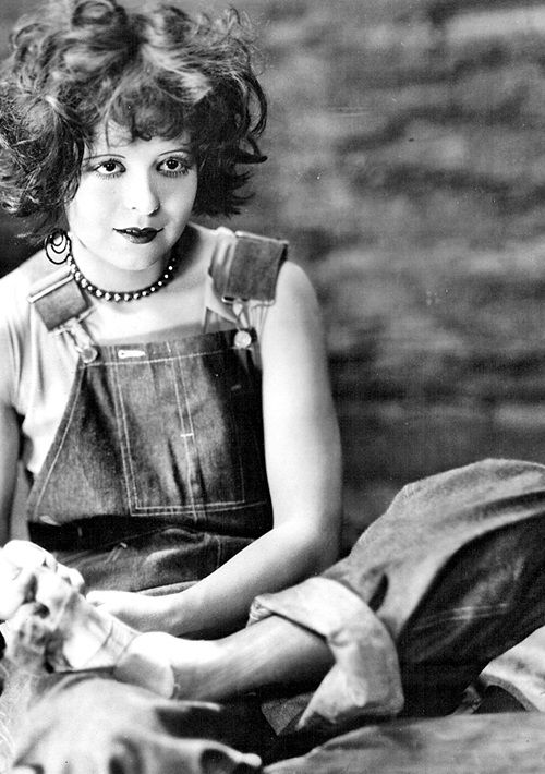 "Clara Bow in ""The Runaway"" [1926]"