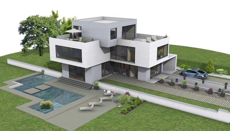 Moderne häuser grundriss l form  haus grundriss l-form - Google-Suche | Traumhaussammlung ...