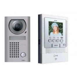 Aiphone Colour Intercom Kit JF2 Handsfree with Stainless Steel Door Station