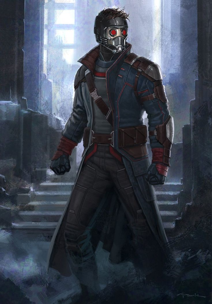 Star Lord concept art by Andy Park