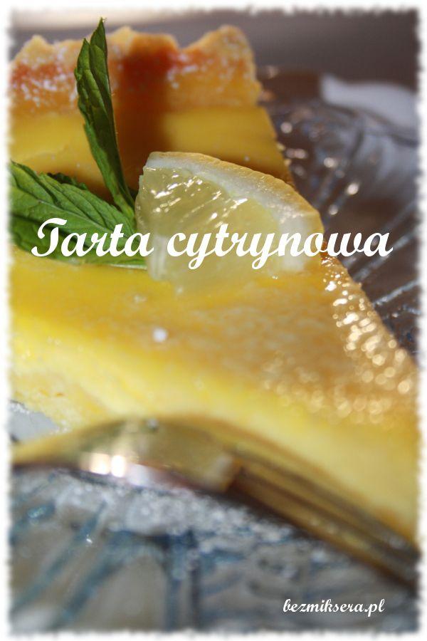 #Tarta cytrynowa #przepis