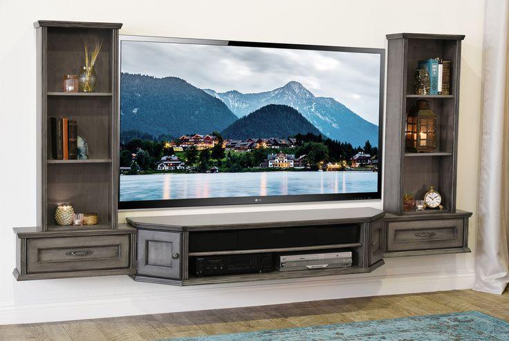 best 25 floating entertainment center ideas on pinterest float center wall mount. Black Bedroom Furniture Sets. Home Design Ideas