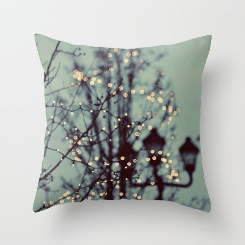 Such a dreamy pillow. I'd put it on the  couch in fall.