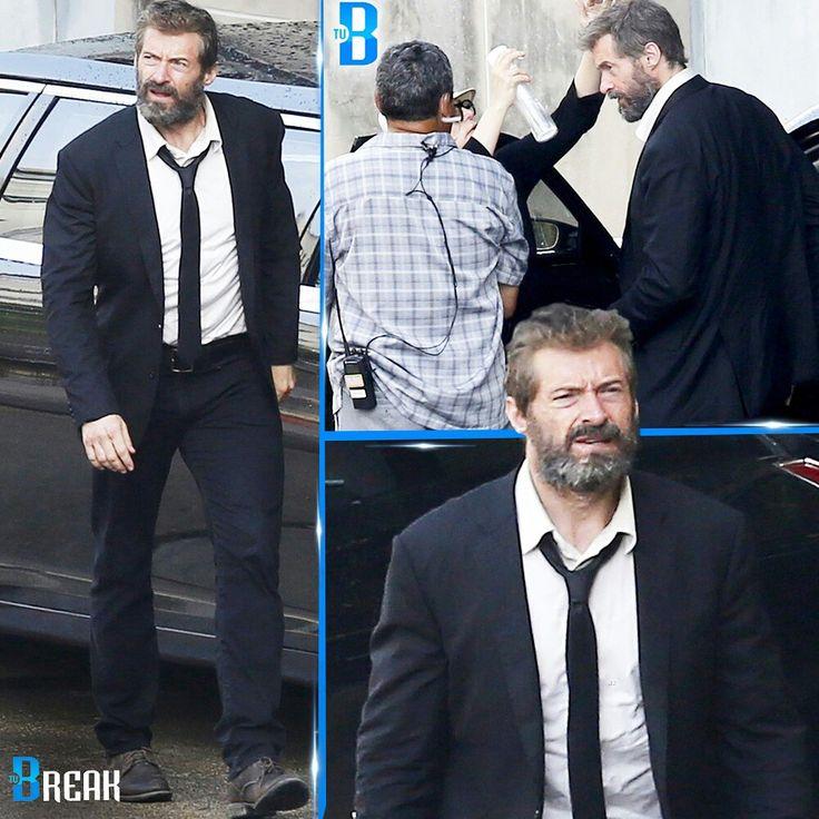 #HughJackman grabando primeras escenas para #Wolverine 3  Hoy martes 31/05/16 fueron capturadas estas immágenes donde se podía ver al actor de 47 años luciendo barba y traje con estilo desaliñado. Se espera que el #Film sea estrenado el 3 de marzo de 2017. #TuBreak