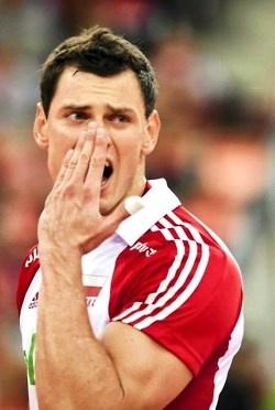 Zbigniew Bartman - volleyball Poland
