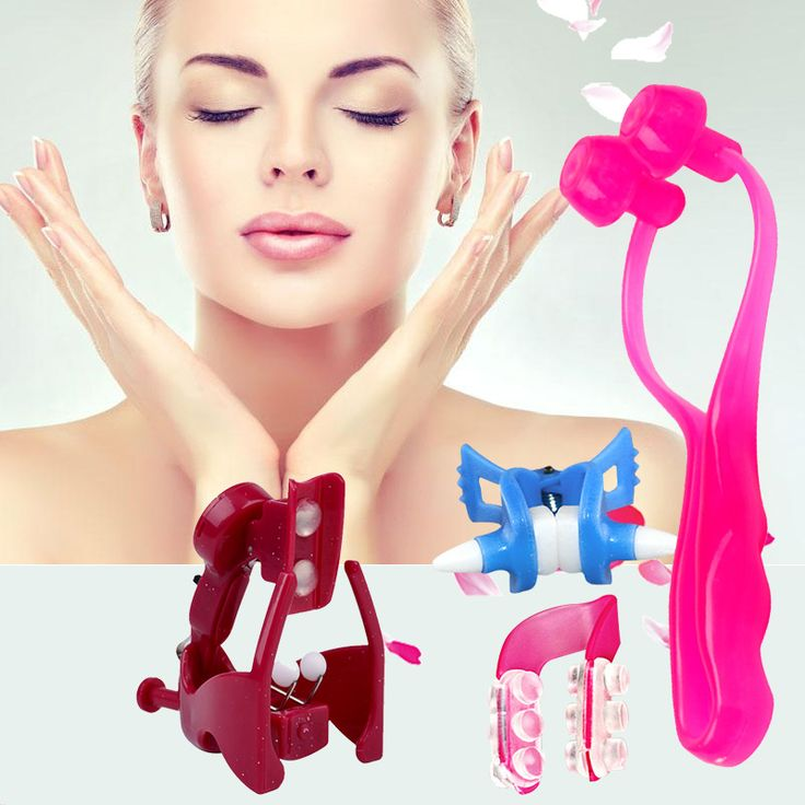 4pcs Nose up Shaping Nose Bridge Lifting Shaping Shaper Nose Clipper Straightening   Clip Lifter Women Beauty Tool 1718 #Affiliate