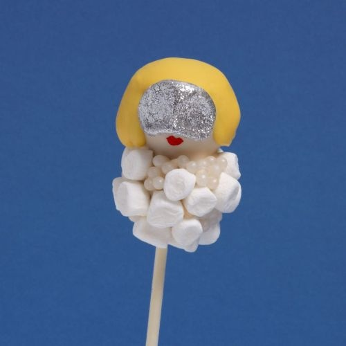 Lady Gaga cake pop - For all your cake decorating supplies, please visit craftcompany.co.uk