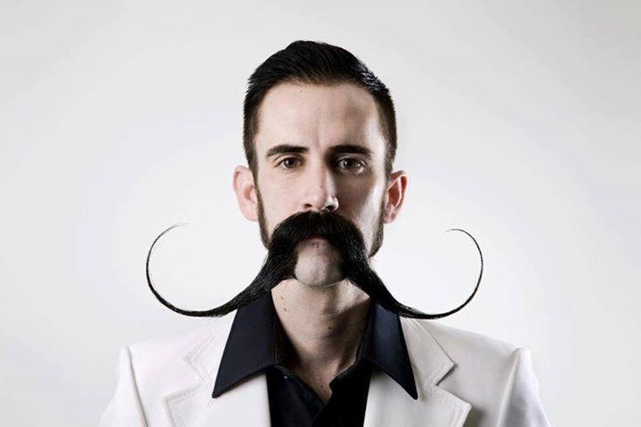 Huge Handlebar Mustache Long Handlebar Mustaches