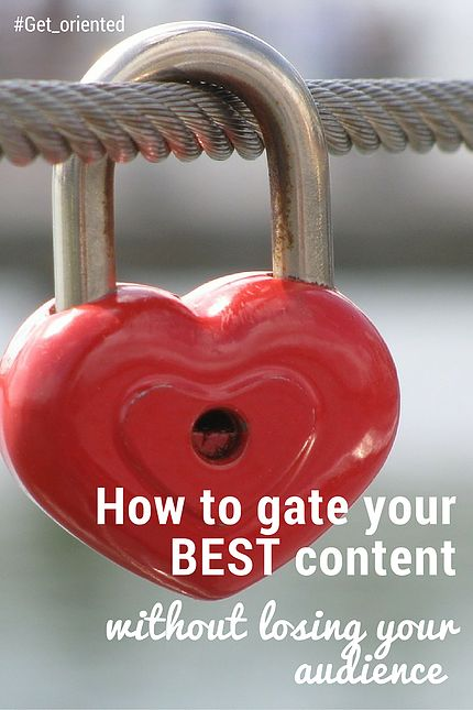 Read this post to:    Understand why gated content is worth the investment, including benefits for you;      Access a scorecard and flowchart for gating your c