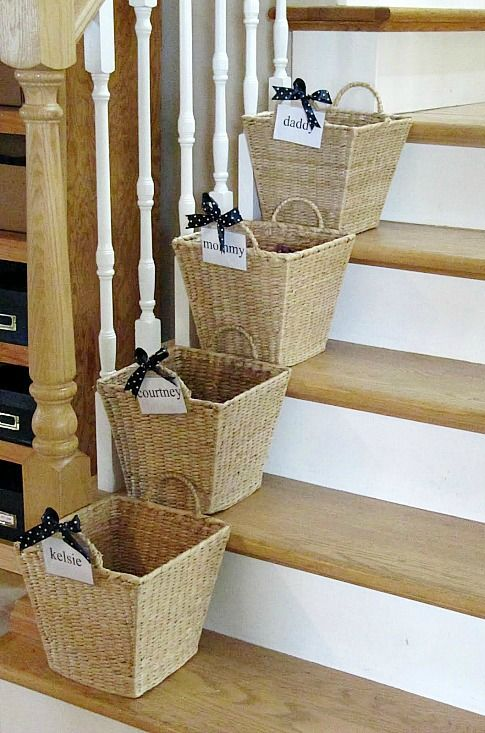 Organize With Baskets