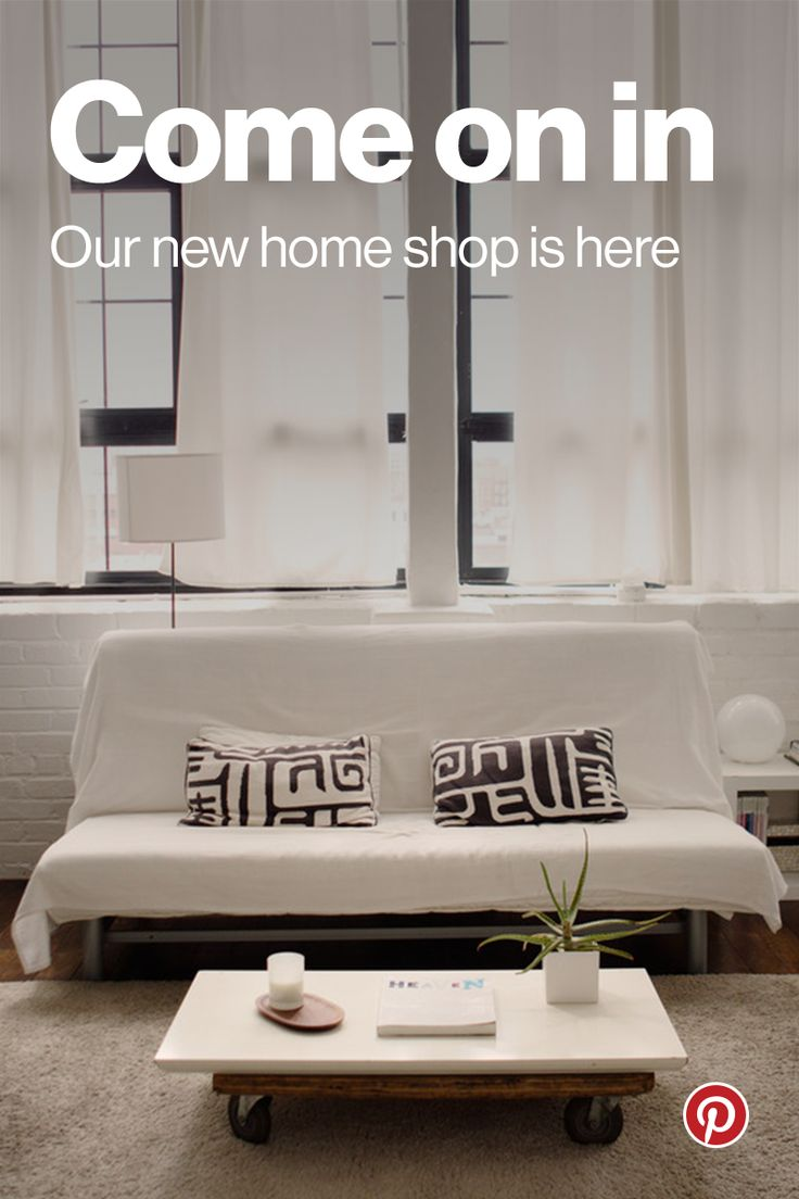"Browse and buy unique products directly on Pinterest every day. Our featured home collection has over 200 items handselected by our in-house editors. See something you love? Tap ""Buy it"" and it's yours in 60 seconds or less, without ever leaving the app. Happy shopping!"