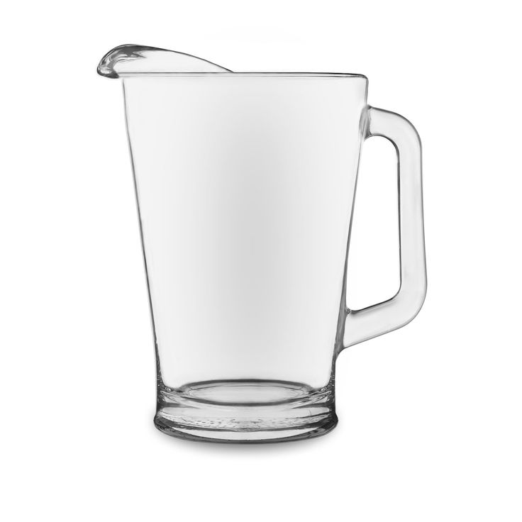 Libbey Glass Pitcher, Clear