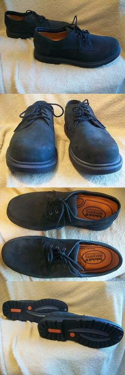 Men Shoes: Timberland Black Men'S Suede Oxford Leather Shoes Size: Eur 44 - Us 11 M -> BUY IT NOW ONLY: $49 on eBay!