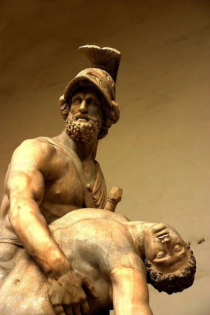 Patroclus And Menelaus The Piazza Della Signoria