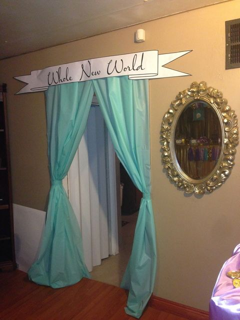 Cute idea for a kid's birthday party… decorate any door