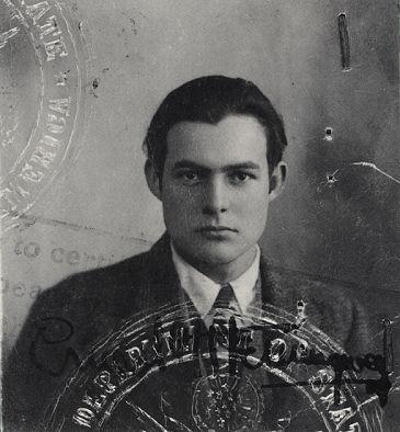 WOW ... Ernest Hemingway's passport, 1920s