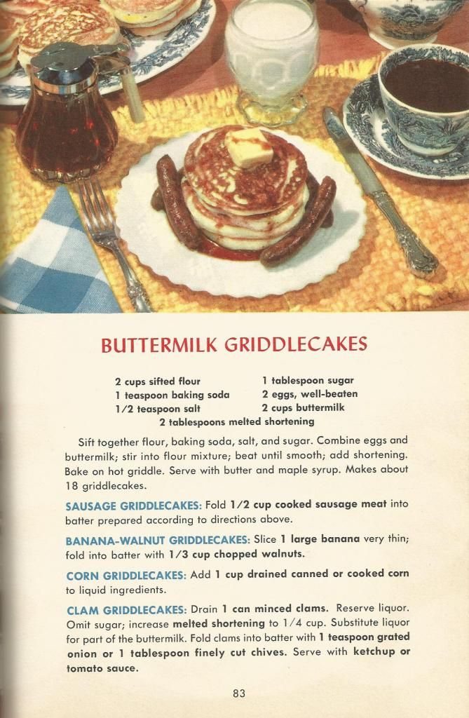 Vintage recipes, 1950s recipes, breads, muffins, doughnuts                                                                                                                                                                                 More