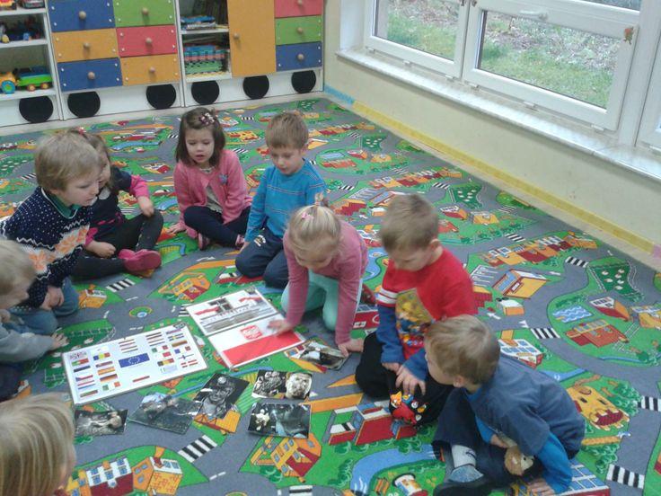 Dzień Górnika w przedszkolu