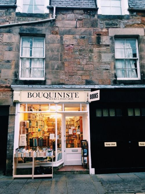 Bookstore in St. Andrews, Scotland