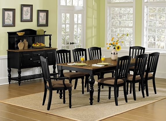 Castleton dining room collection value city furniture for Dining room value city furniture