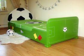 decoración tema fútbol