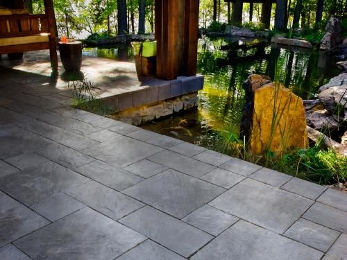 Like These Too; A Bit More Modern Feel · Slate PaversConcrete PaversDenver  ...